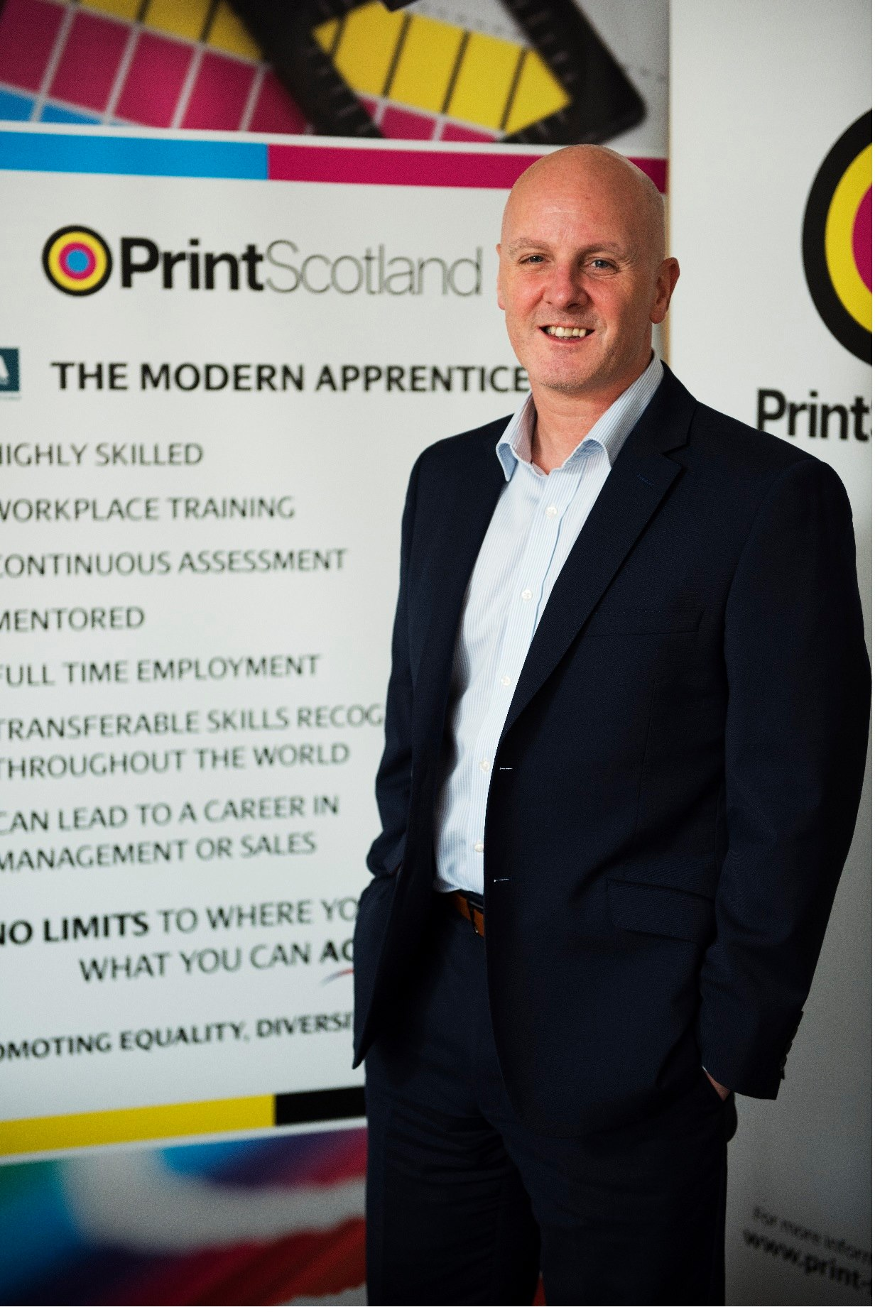 Kevin Creechan, President of Print Scotland